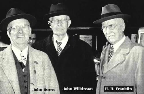 John Burns, John Wilkinson, and Herbert H. Franklin